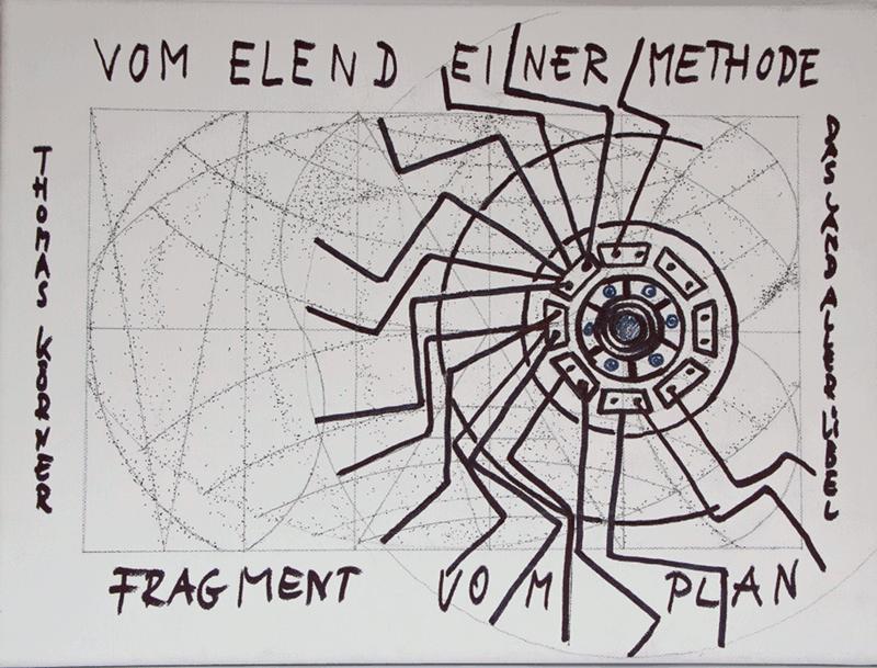 Heuwender - Fragment vom Plan von Thomas Körner